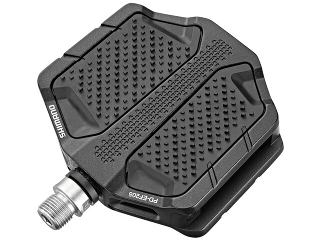 Shimano PD-EF205 Flat Pedals, black